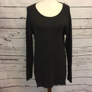 Nautica Womens Sz XL cable knit sweater
